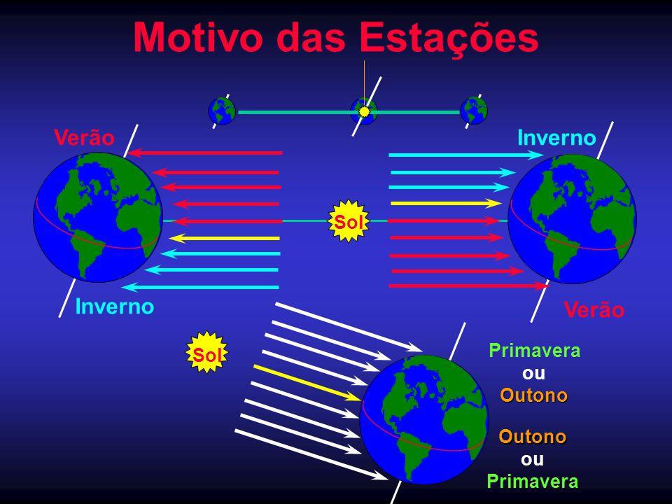 Motivo das Estações Verão Inverno Verão Inverno Sol Primavera Sol ou