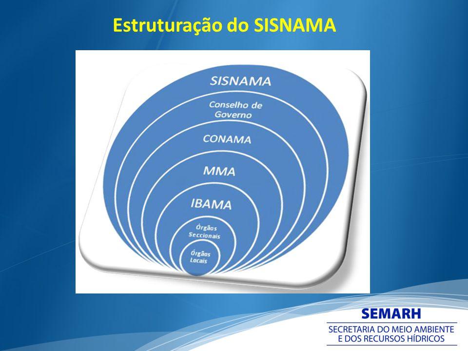 Estruturação do SISNAMA