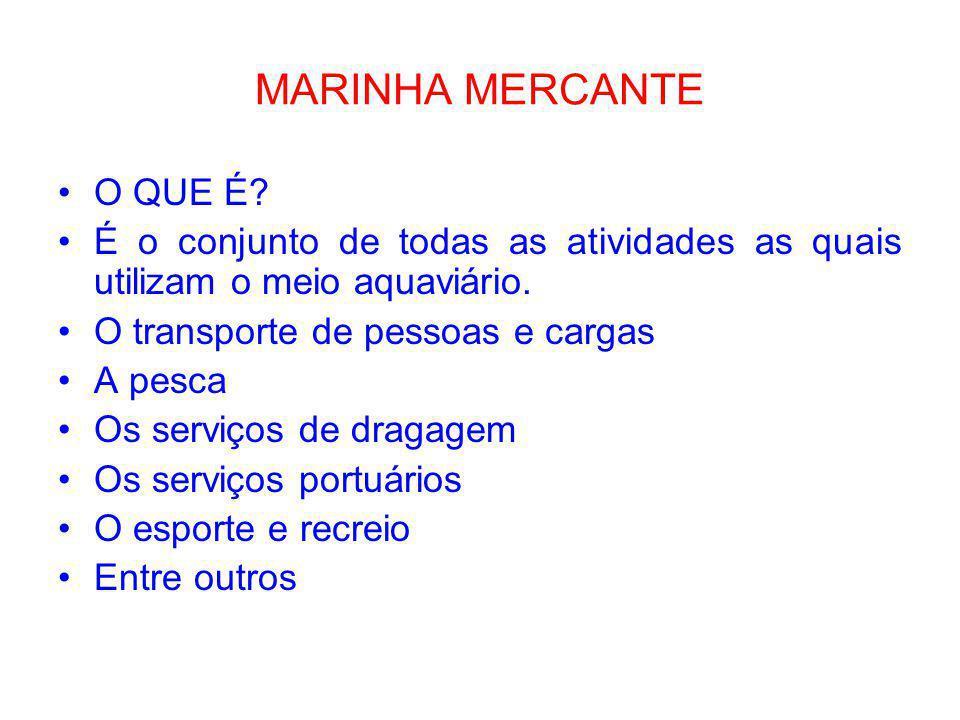 MARINHA MERCANTE O QUE É
