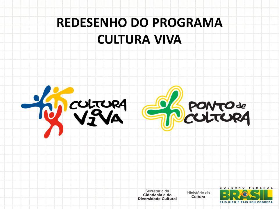 REDESENHO DO PROGRAMA CULTURA VIVA
