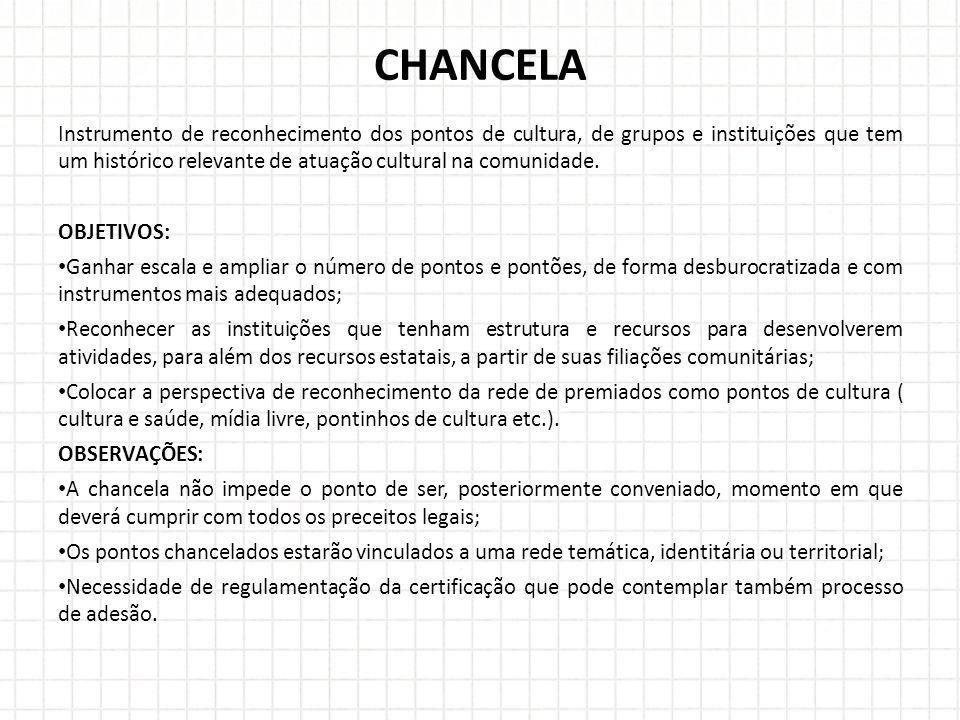 CHANCELA