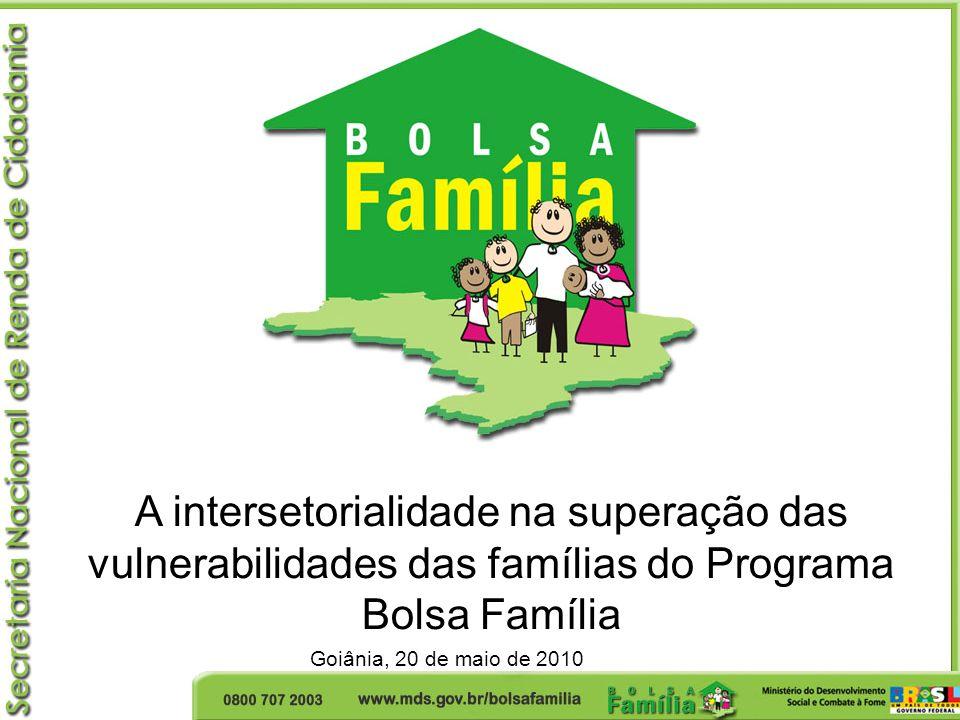 A intersetorialidade na superação das vulnerabilidades das famílias do Programa Bolsa Família