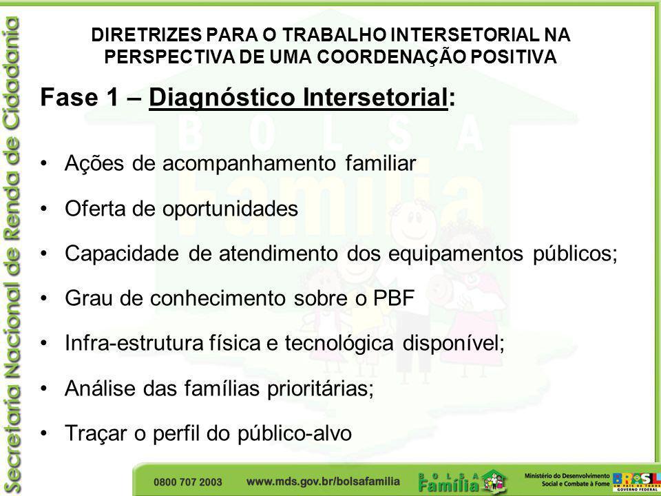 Fase 1 – Diagnóstico Intersetorial: