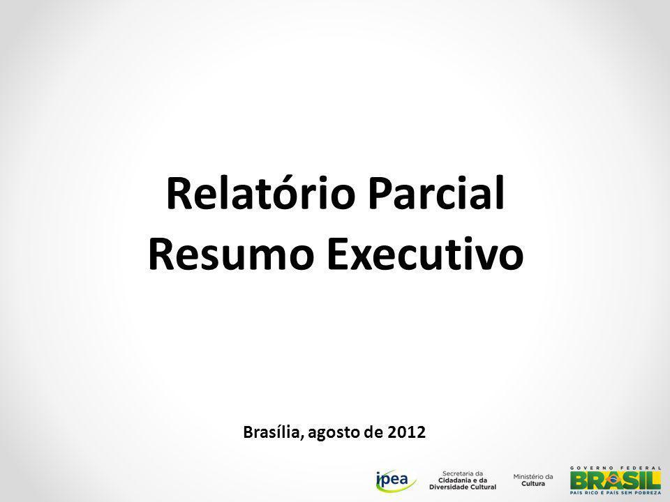 Relatório Parcial Resumo Executivo