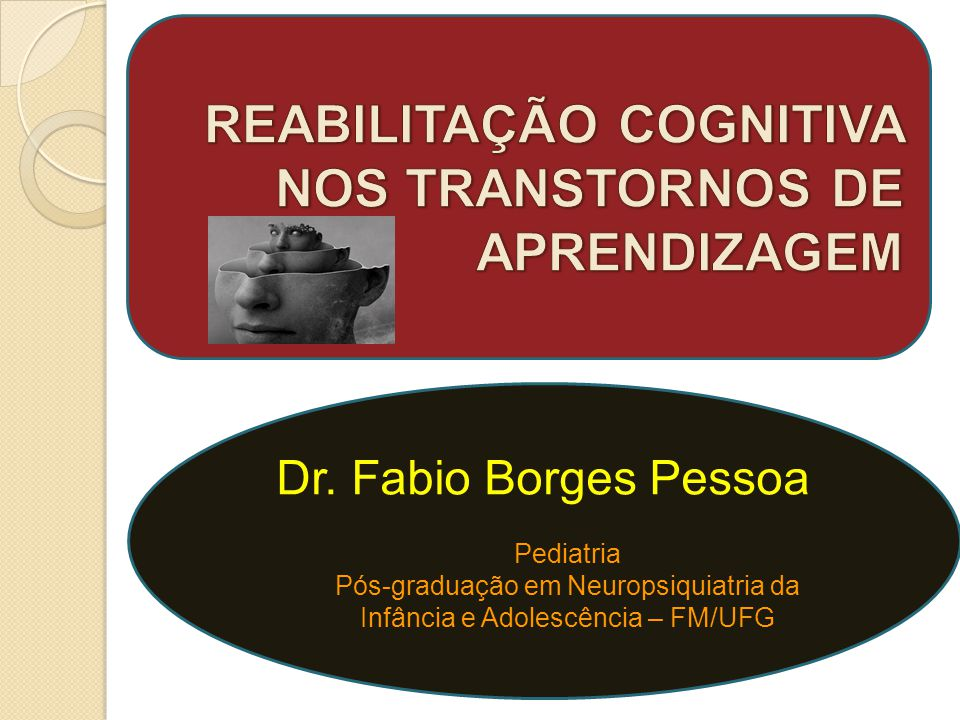 Pós-graduação em Neuropsiquiatria da Infância e Adolescência – FM/UFG