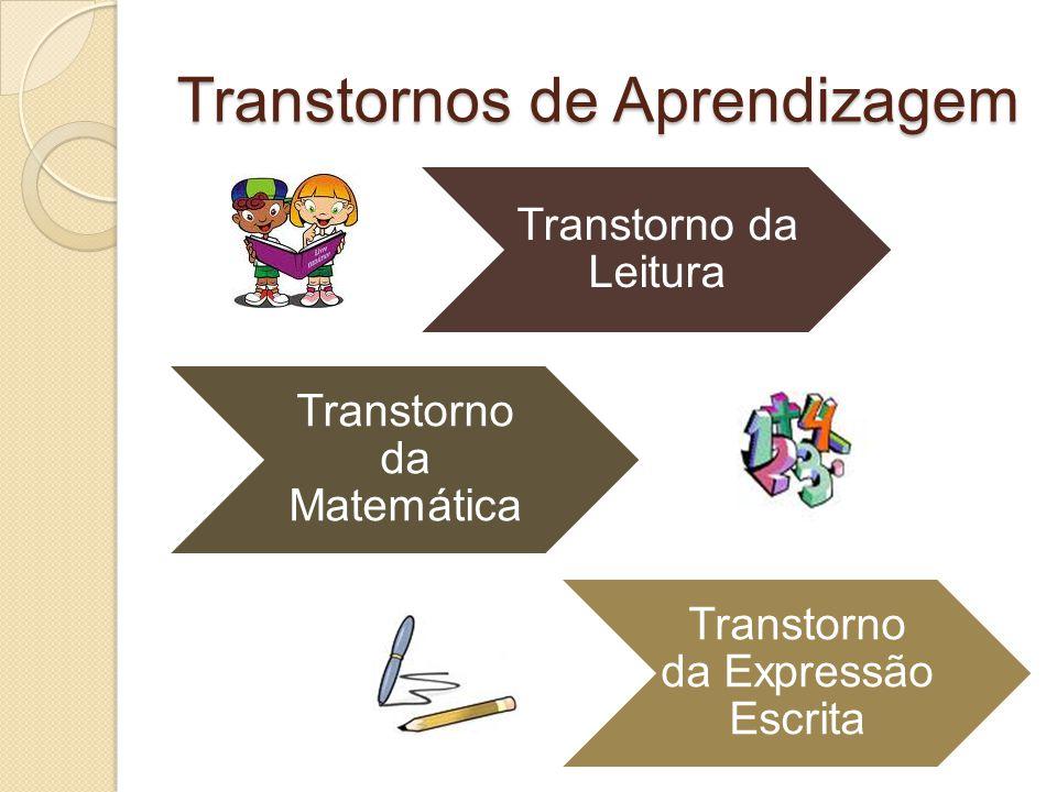 Transtornos de Aprendizagem