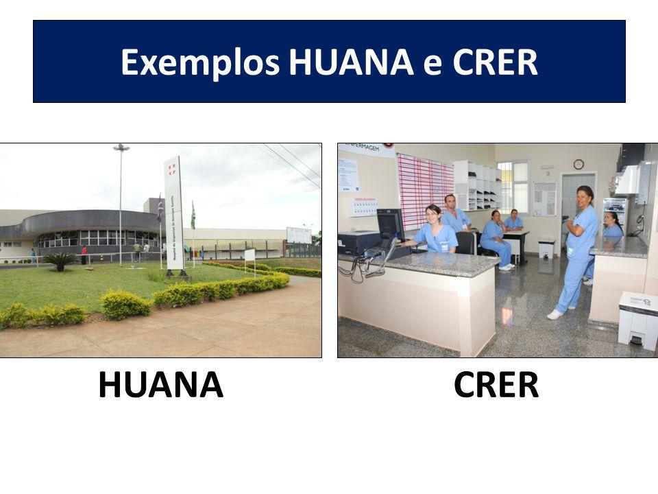 Exemplos HUANA e CRER HUANA CRER