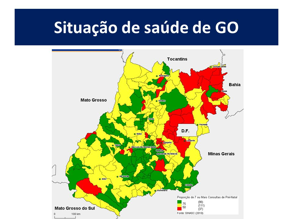 Situação de saúde de GO