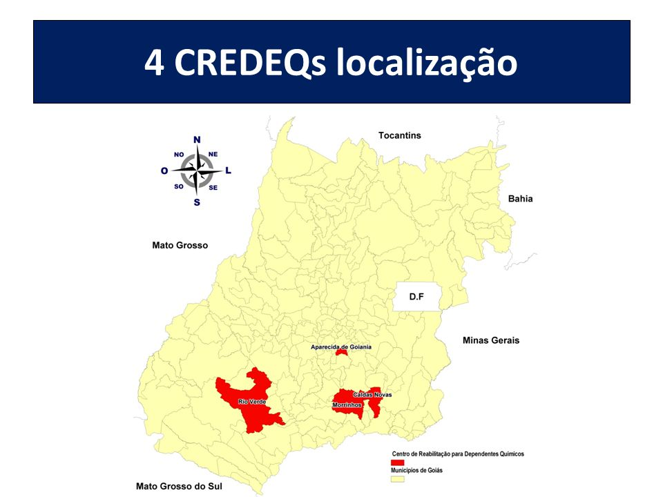 4 CREDEQs localização
