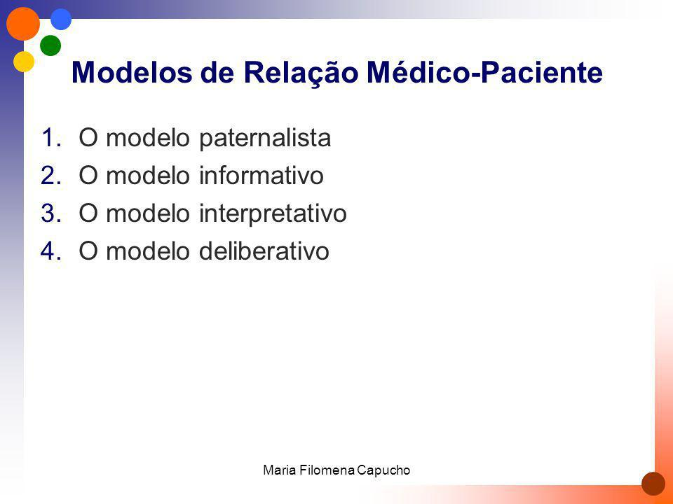 Modelos de Relação Médico-Paciente