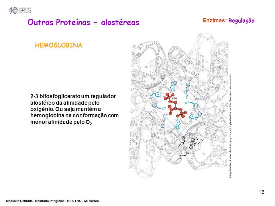 Outras Proteínas - alostéreas