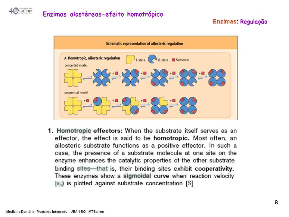 Enzimas alostéreas-efeito homotrópico