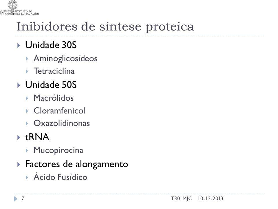 Inibidores de síntese proteica