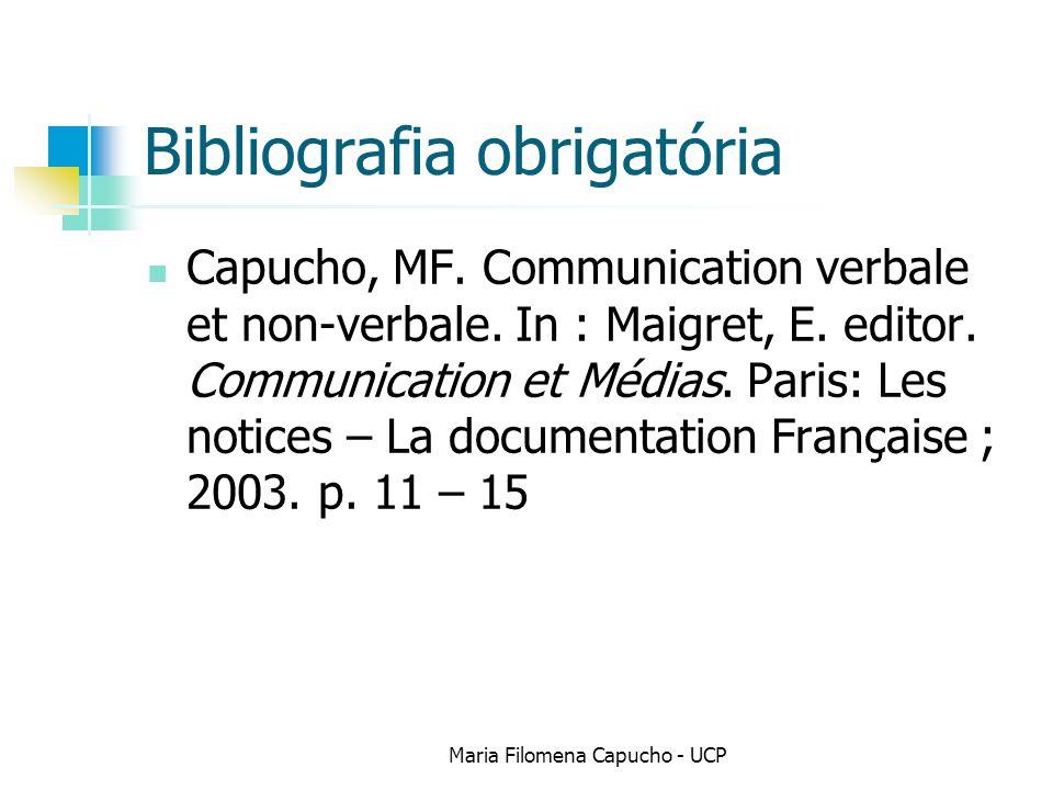 Bibliografia obrigatória