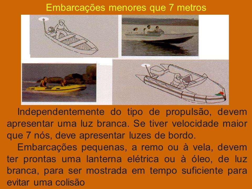 Embarcações menores que 7 metros