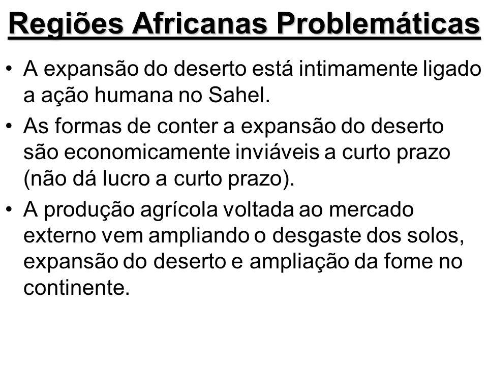 Regiões Africanas Problemáticas