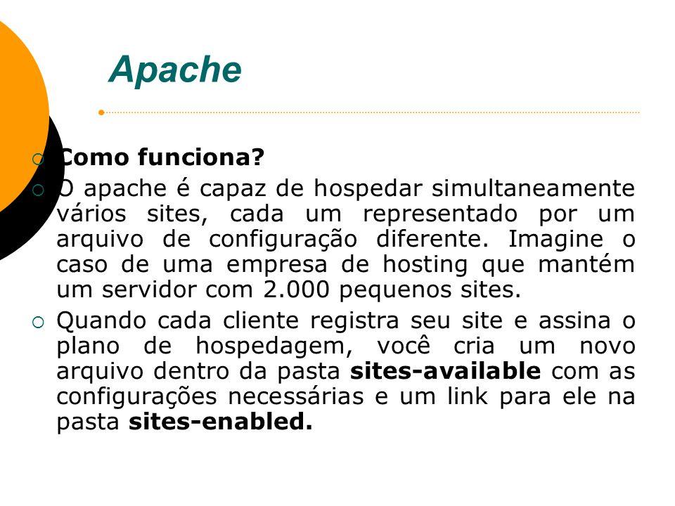 Apache Como funciona