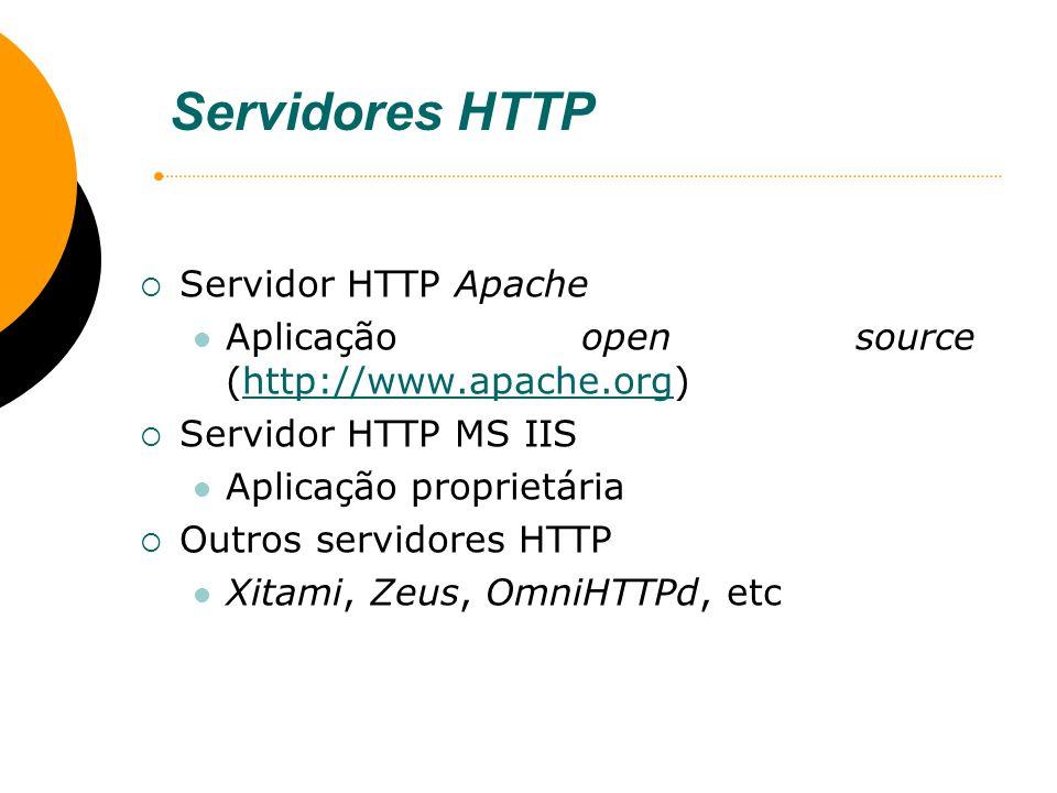 Servidores HTTP Servidor HTTP Apache