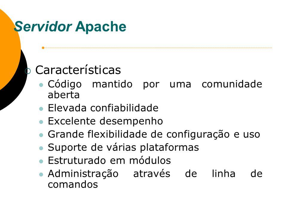 Servidor Apache Características