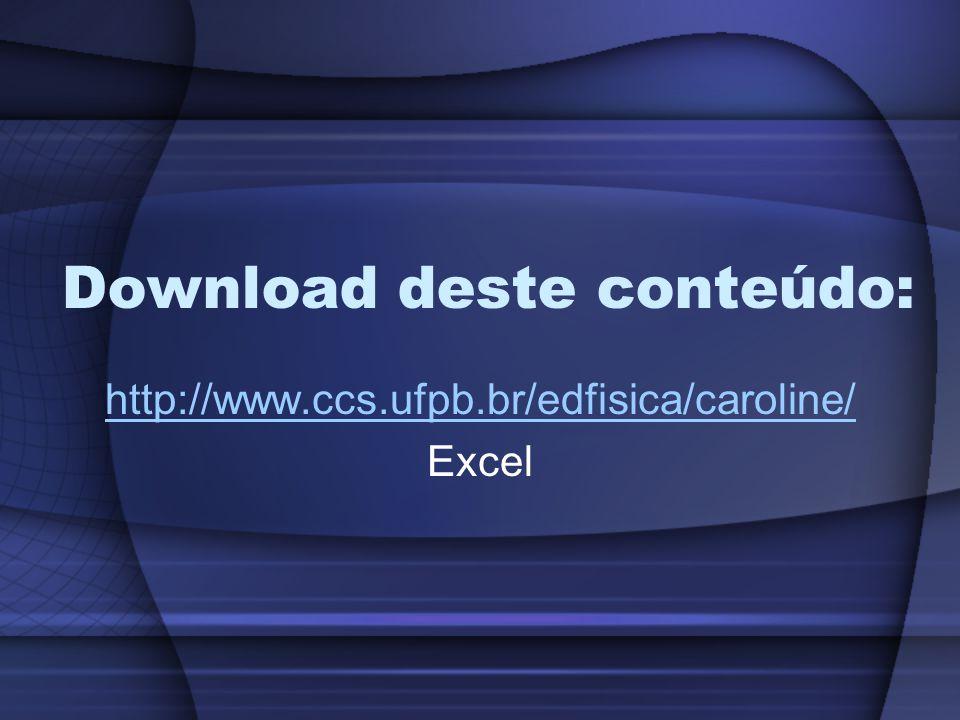 Download deste conteúdo: