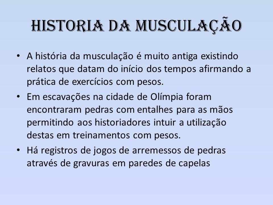 Historia da Musculação