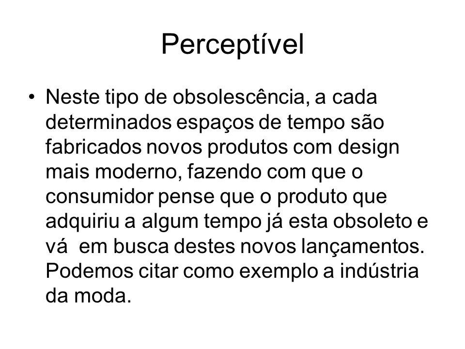 Perceptível