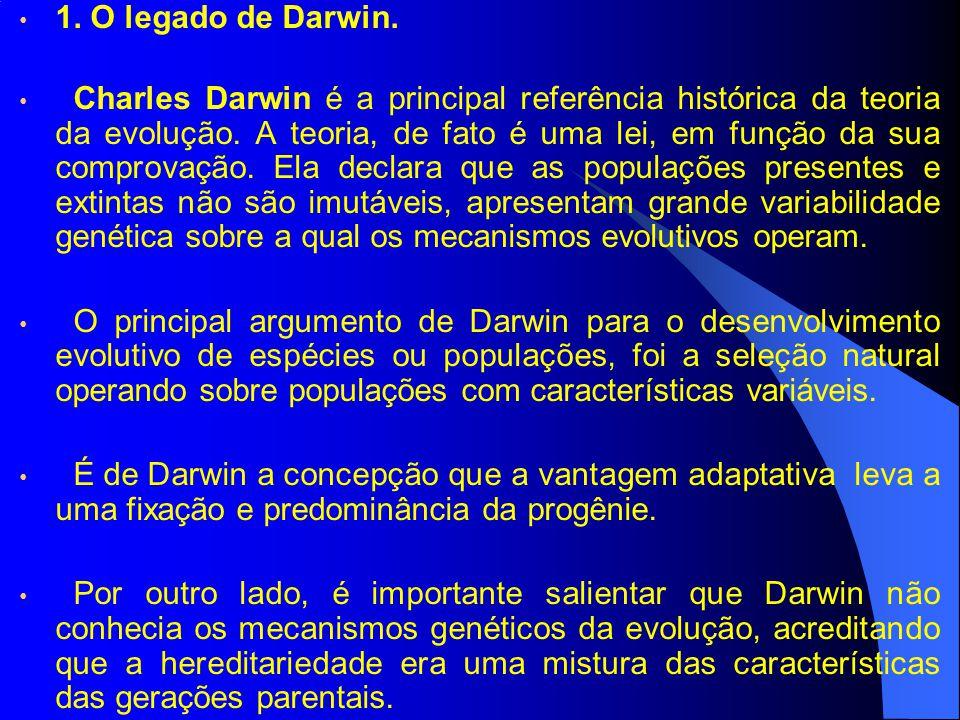 1. O legado de Darwin.