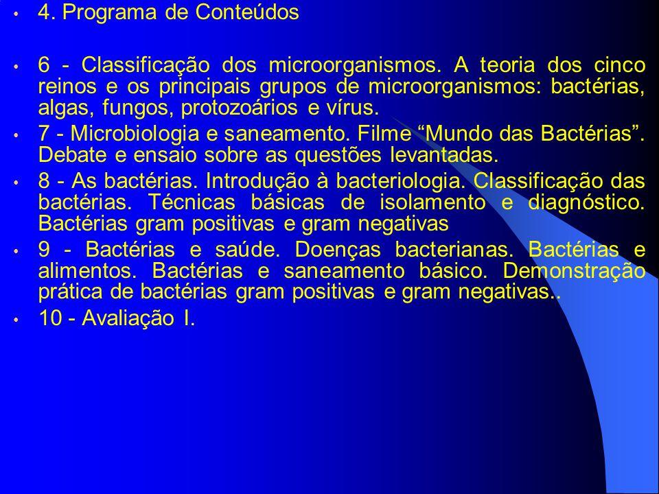 4. Programa de Conteúdos