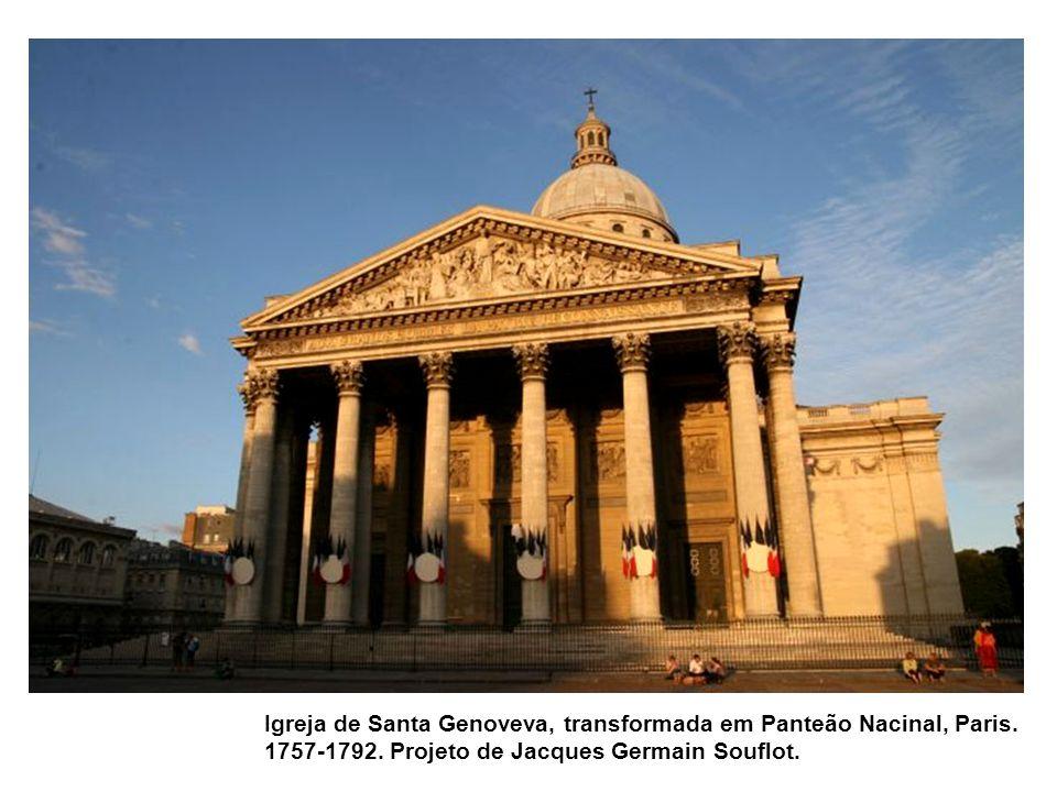 Igreja de Santa Genoveva, transformada em Panteão Nacinal, Paris