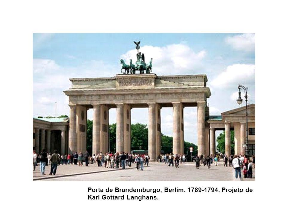 Porta de Brandemburgo, Berlim. 1789-1794