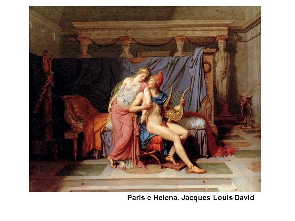 Paris e Helena. Jacques Louis David