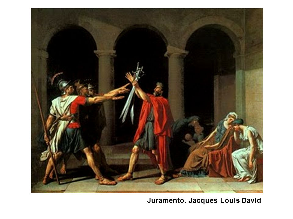 Juramento. Jacques Louis David