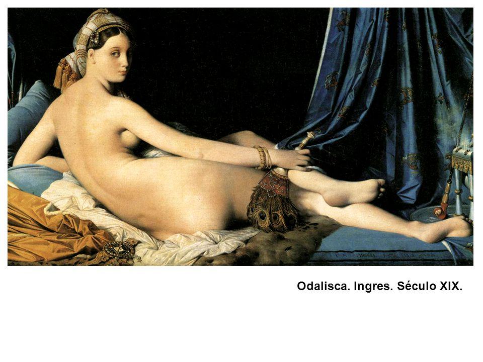 Odalisca. Ingres. Século XIX.