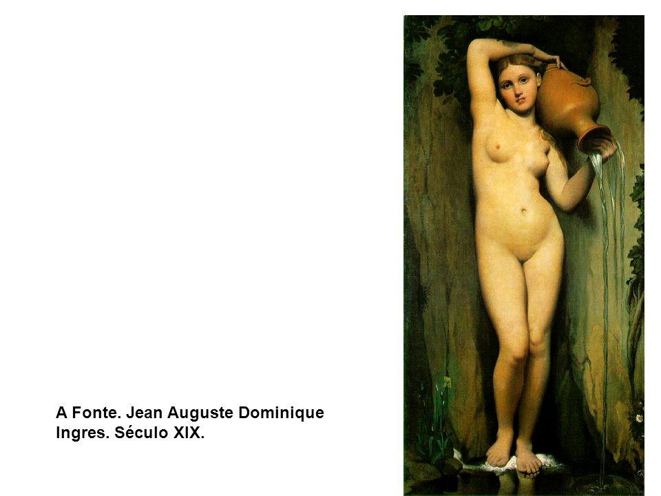 A Fonte. Jean Auguste Dominique Ingres. Século XIX.