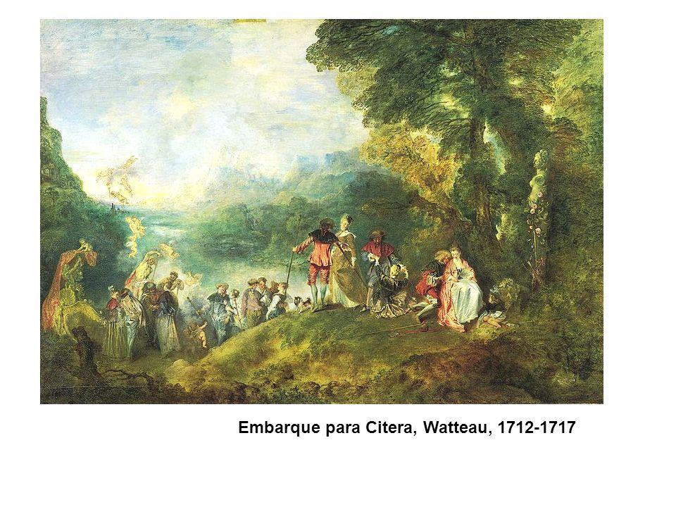 Embarque para Citera, Watteau, 1712-1717