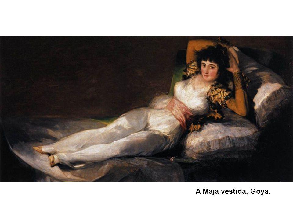 A Maja vestida, Goya. 47
