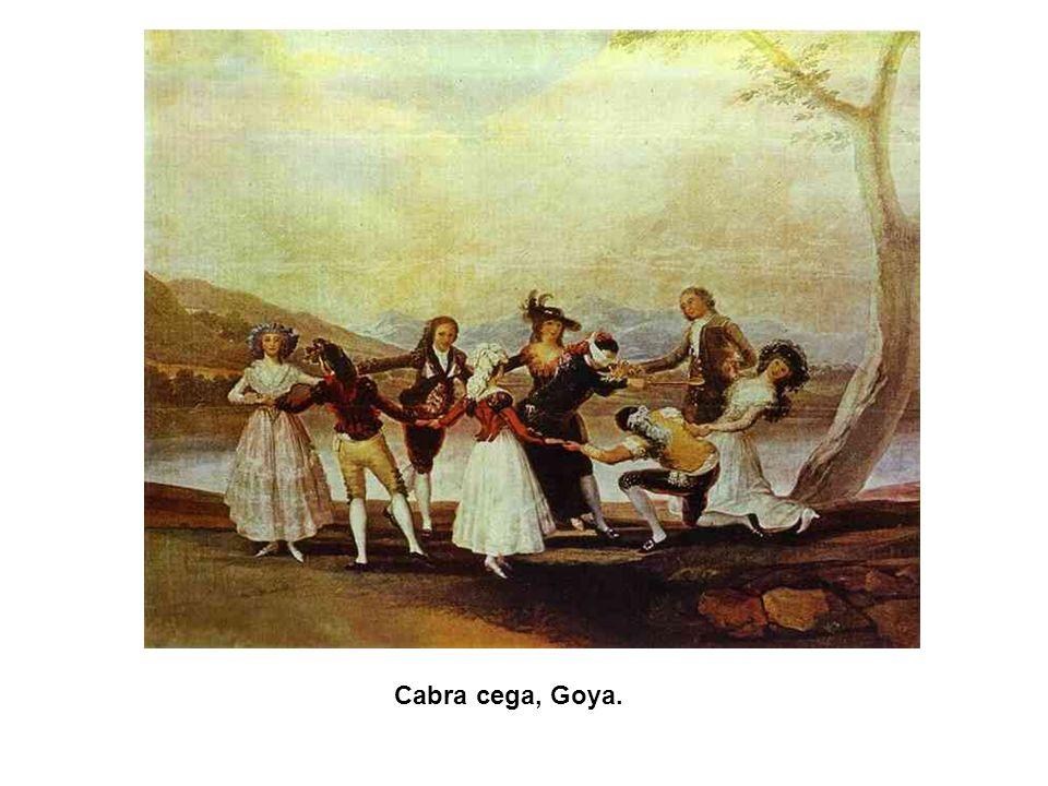Cabra cega, Goya. 49