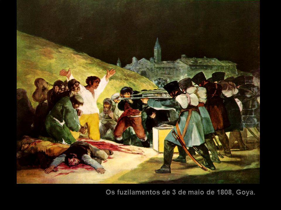 Os fuzilamentos de 3 de maio de 1808, Goya.
