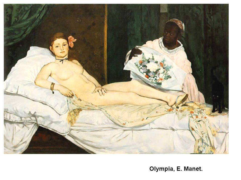 Olympia, E. Manet. 71