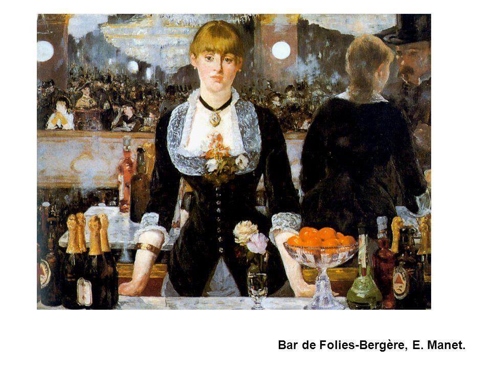 Bar de Folies-Bergère, E. Manet.