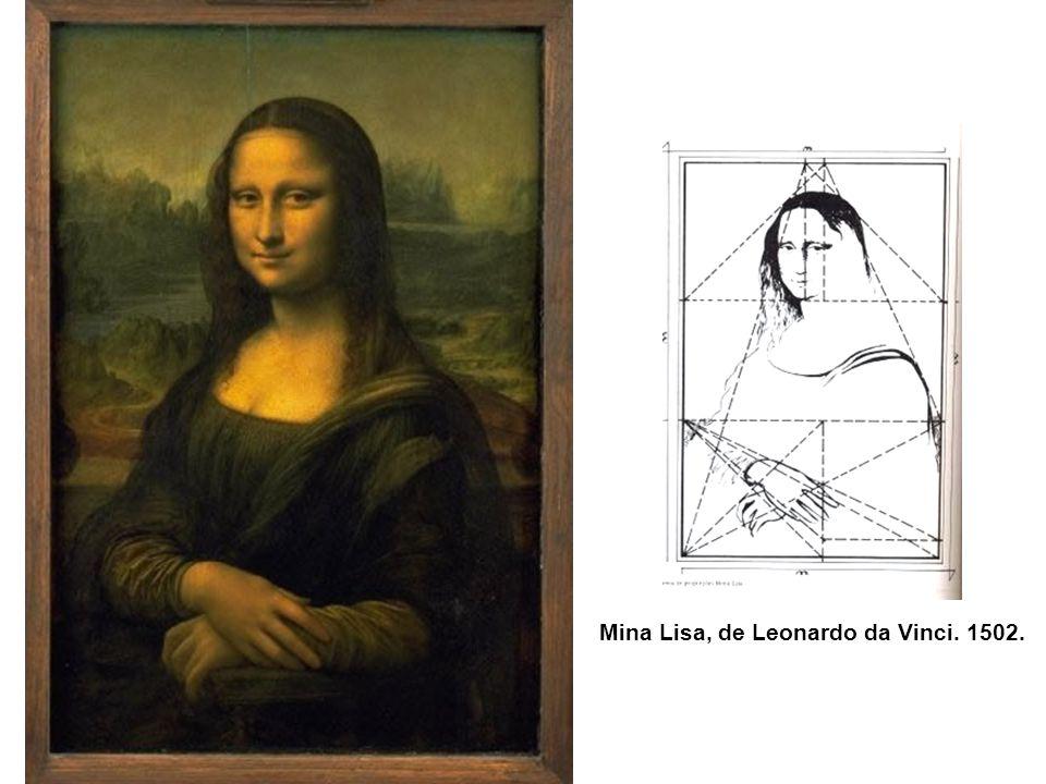 Mina Lisa, de Leonardo da Vinci. 1502.