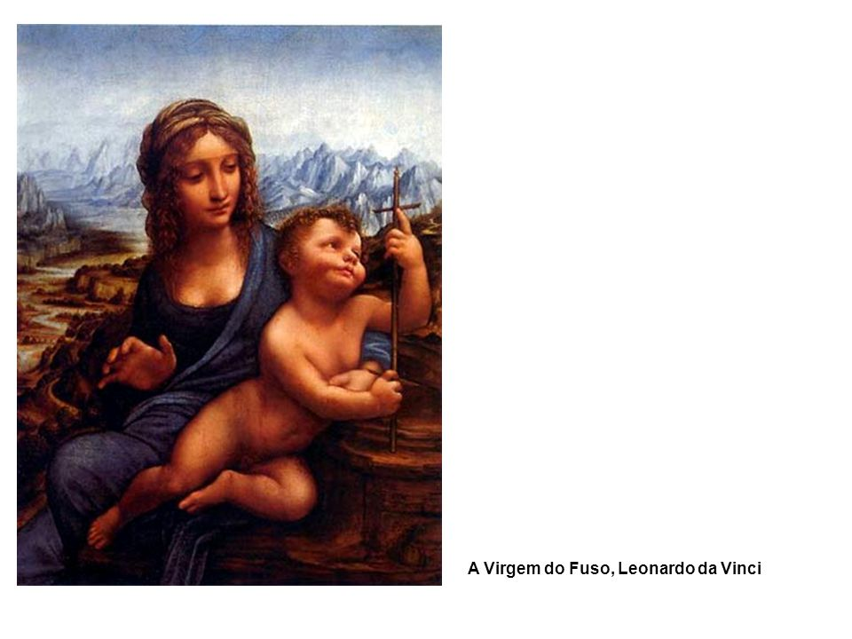 A Virgem do Fuso, Leonardo da Vinci