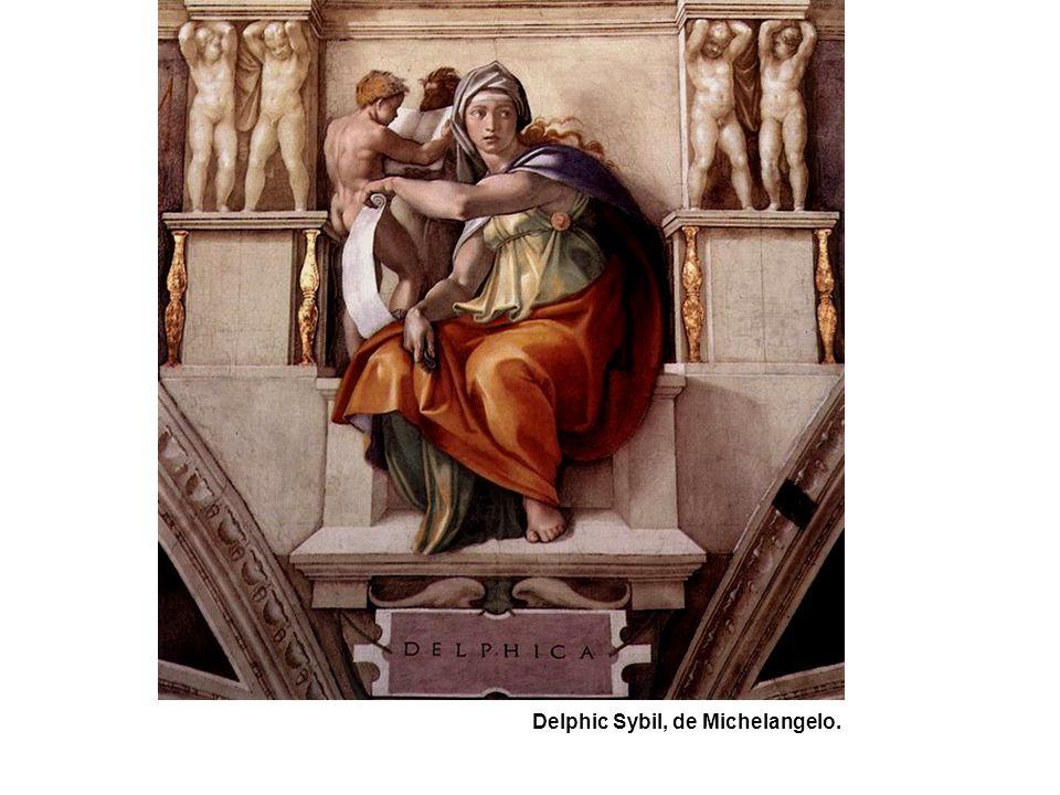 Delphic Sybil, de Michelangelo.