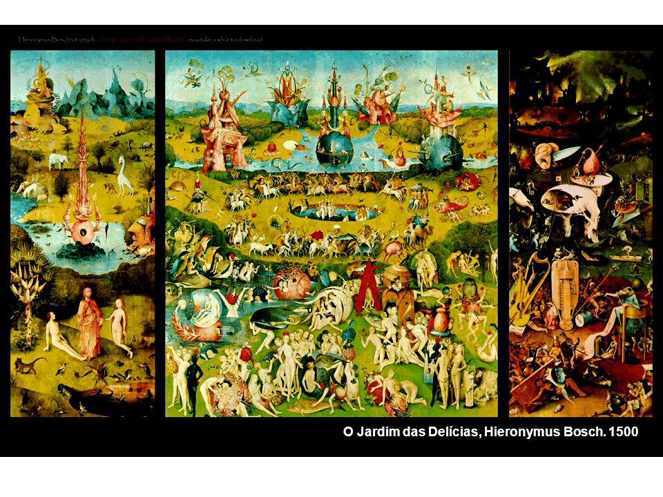 O Jardim das Delícias, Hieronymus Bosch. 1500