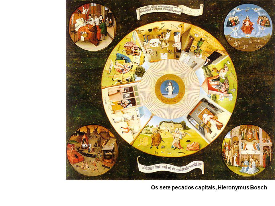 Os sete pecados capitais, Hieronymus Bosch