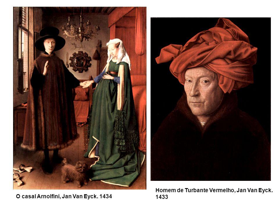 Homem de Turbante Vermelho, Jan Van Eyck. 1433