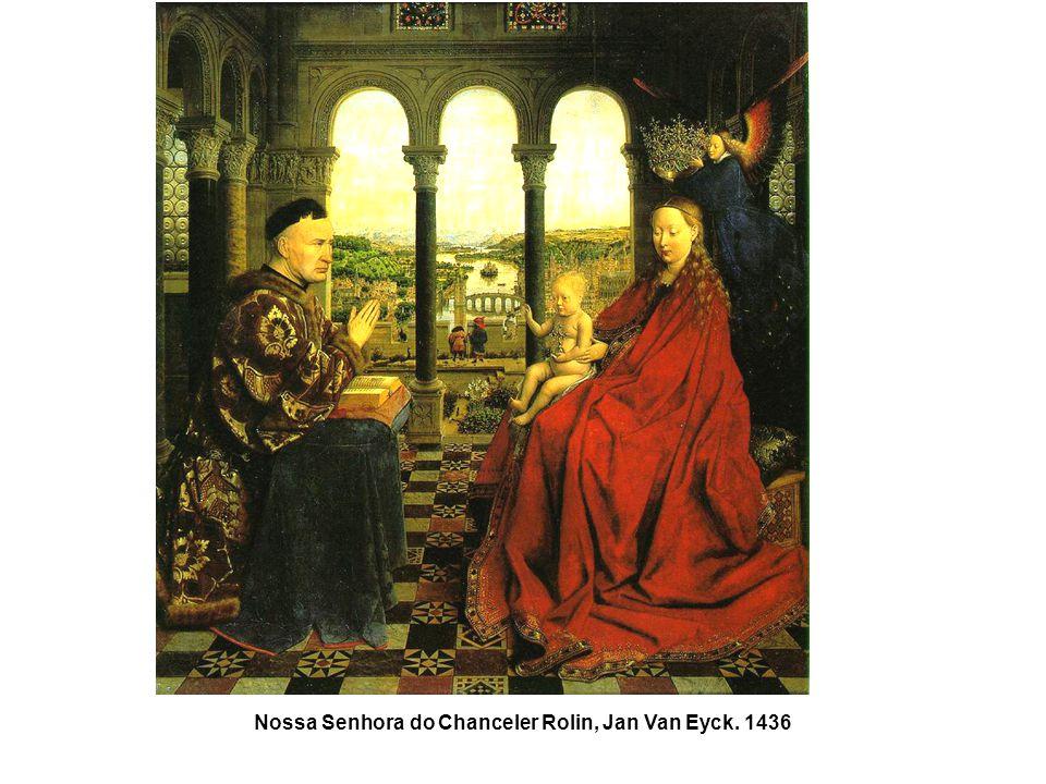 Nossa Senhora do Chanceler Rolin, Jan Van Eyck. 1436