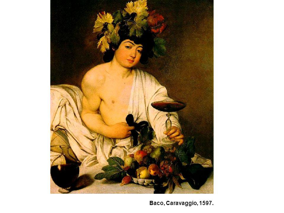 Baco, Caravaggio, 1597. 53
