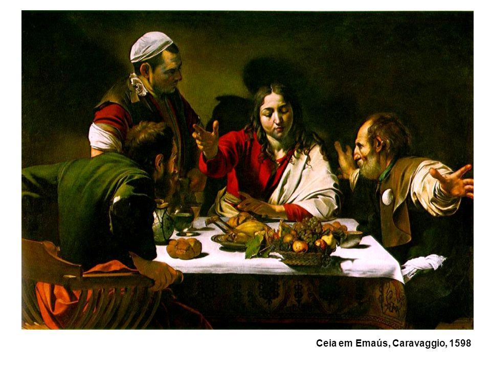 Ceia em Emaús, Caravaggio, 1598