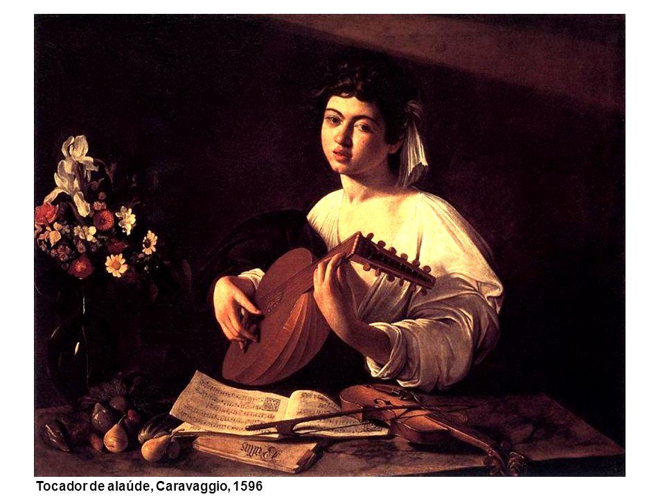 Tocador de alaúde, Caravaggio, 1596